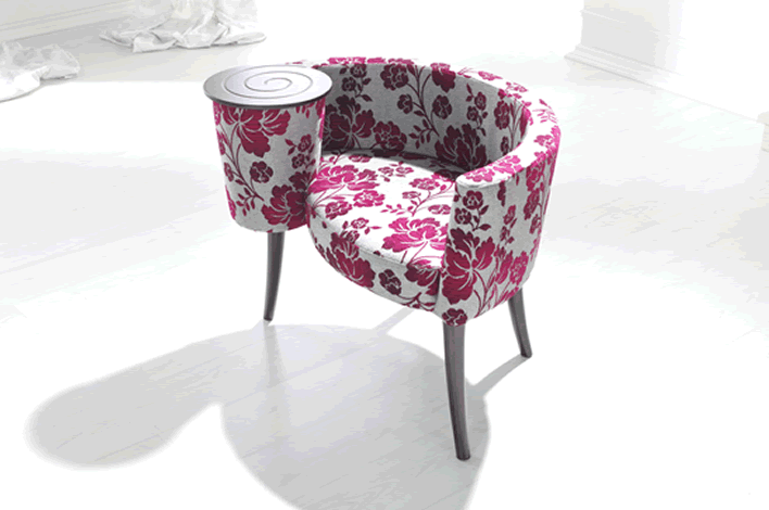 Upholstered accent chairs Quebec