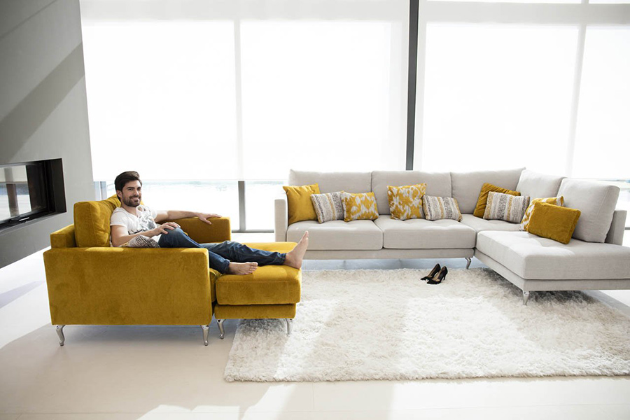 Montreal Modern Sectional Sofa