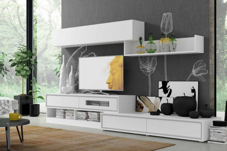 Modern Wall Unit Montreal