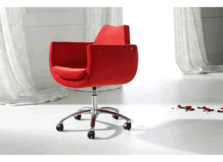 Modern roller chair fabric