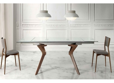 Extendable Modern Dining Table Lin