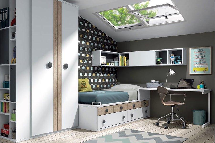 Modern Teenage bedroom Montreal