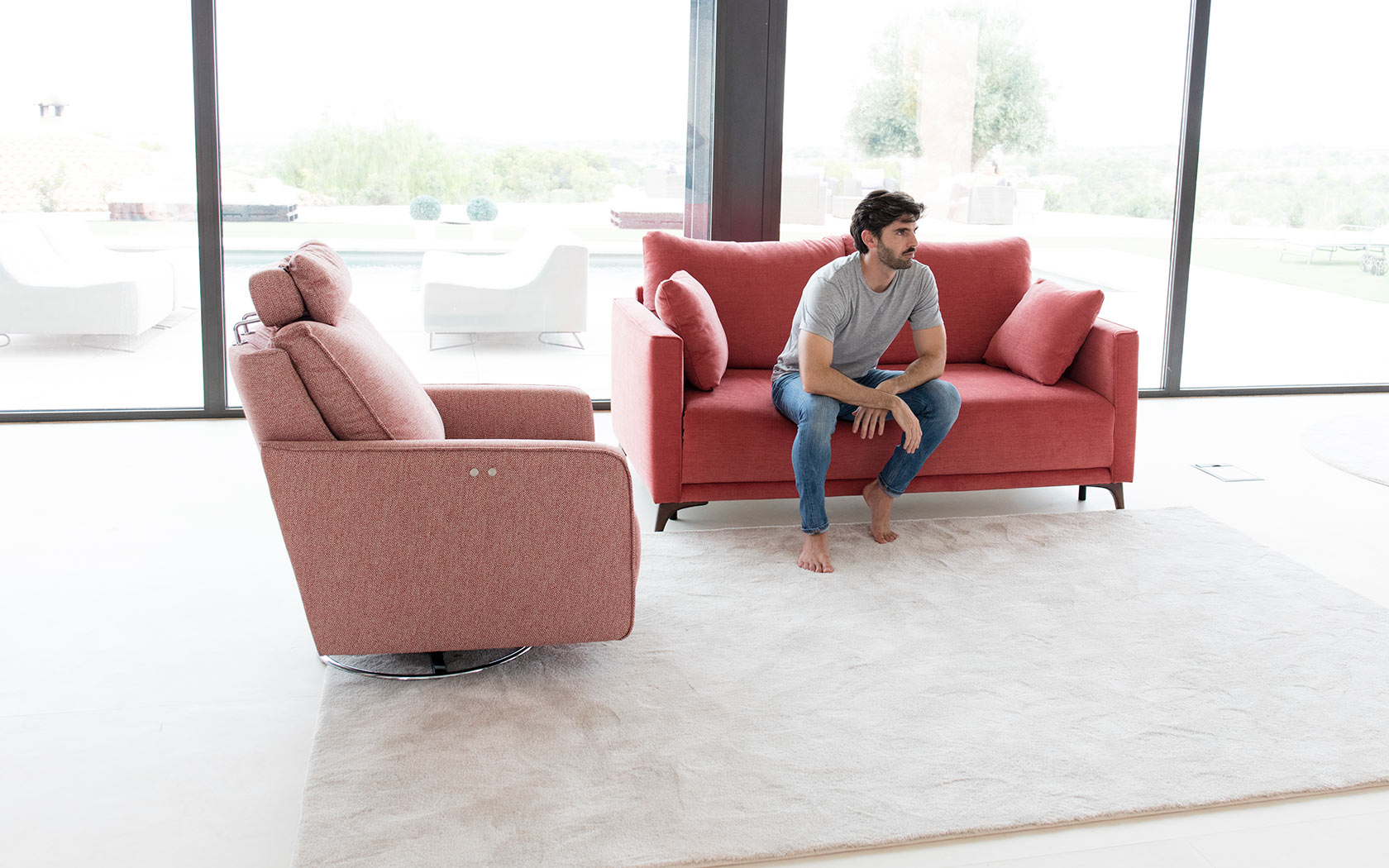 Modern European sofa-bed Quebec