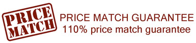 110% price match guarantee.