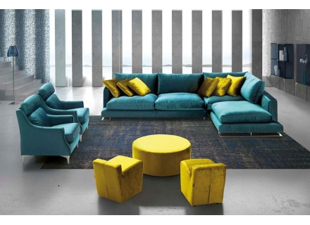 Chanel Modern Sectional Modern Furniture Montreal