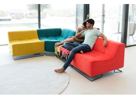 Funky Sectional Arianne Modern Furniture Montreal